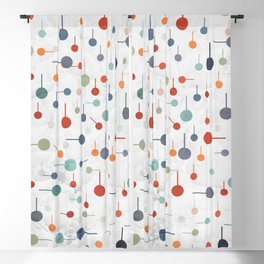 Playful Abstract Dots Blackout Curtain