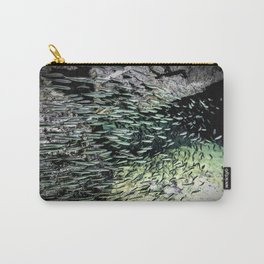 Shimmering Shoal Carry-All Pouch