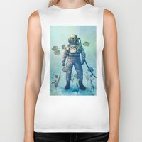 movie Biker Tanks featuring Deep Sea Garden  by Terry Fan
