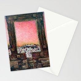 Naxos Portara Greece Stationery Cards