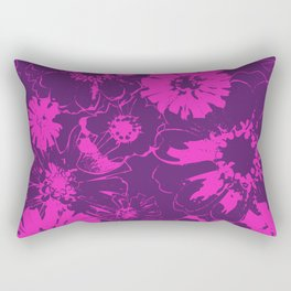 Late Summer Fushia Rectangular Pillow