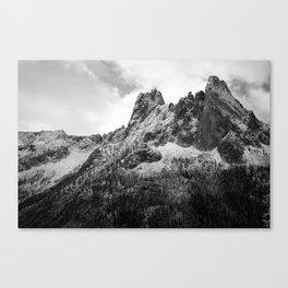Roadtrip Mountain Canvas Print