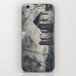 The Ruins of St Marys - Monochrome iPhone Skin