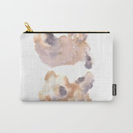 Soft Texture Watercolor | [Grief] Separation Carry-All Pouch