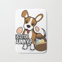 Beagle Easter Funny for Boys Girls Love Dog Puppy Bath Mat