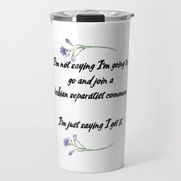 Running Away Travel Mug