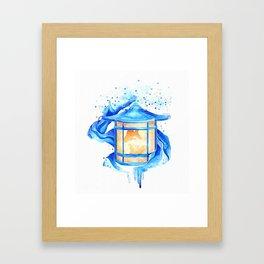 Light up my path Framed Art Print