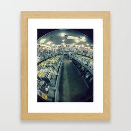 Amoeba Records, San Francisco  Framed Art Print