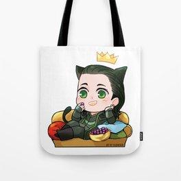 Falling Loki Tote Bag