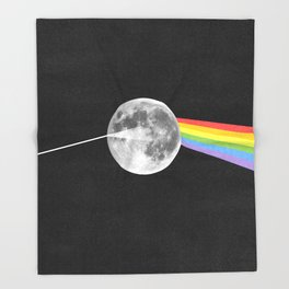 Dark Side of the Moon. Throw Blanket