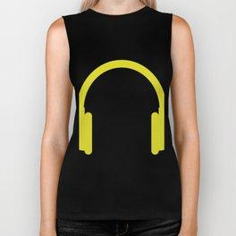 headphones Biker Tank
