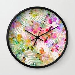 SWEET TROPICS Wall Clock