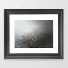 cover me with flowers Framed Art Print