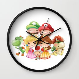 White Plumber's Collection Wall Clock