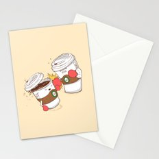 Strong Coffee Stationery Cards