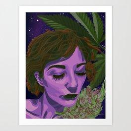 Canna-Queen Art Print