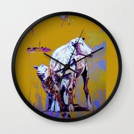 MARN HOL FAST! - Panorama Version Wall Clock