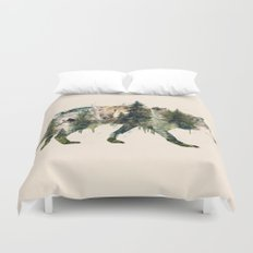 Wolf is the Pride of Nature Duvet Cover