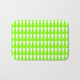 Billie Neon Green Bath Mat
