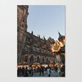 strasbourg christmas Canvas Print