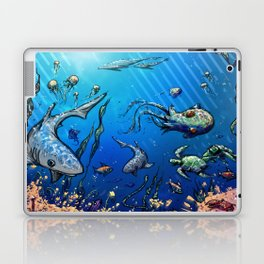 Unda da Sea Laptop & iPad Skin