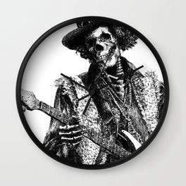The Legend of Guitarist Wall Clock