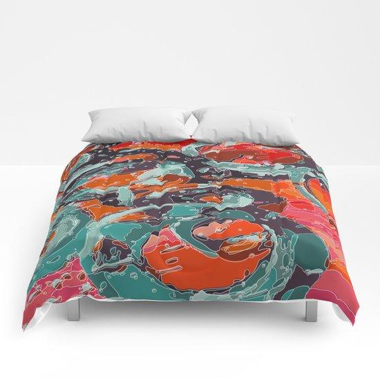green rings Comforters