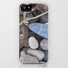 Little Fish At The Beach iPhone Case