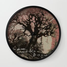 The Crooked Kind 407 Wall Clock