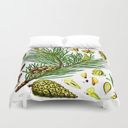 Pinus sylvestris Duvet Cover
