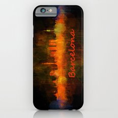 Barcelona City Skyline Hq _v4 Slim Case iPhone 6s