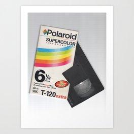 Polariod Art Print
