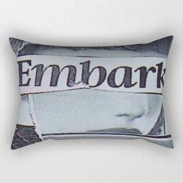embark Rectangular Pillow