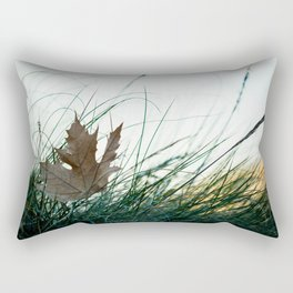 Left by the wind Rectangular Pillow