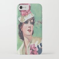iPhone Cases featuring Once Upon A Time No. 1 by Bakmann Art
