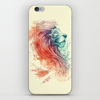 sea iPhone & iPod Skins featuring Sea Lion by Steven Toang