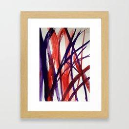 alberi di vetro Framed Art Print