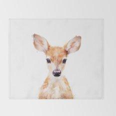 Little Deer Throw Blanket
