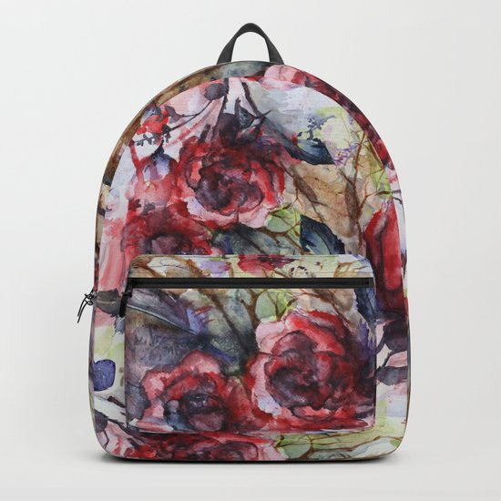 Bloodflowers Backpack