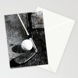 The golf club Stationery Cards