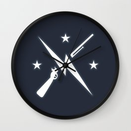 Minute Men Wall Clock