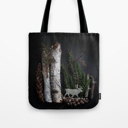 Birch Island in the Northwoods Tote Bag
