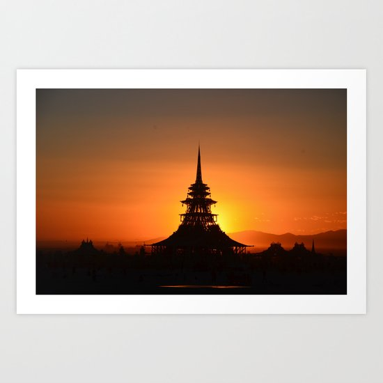 House of the Rising Sun Art Print