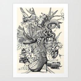 Tree of Wonders Art Print