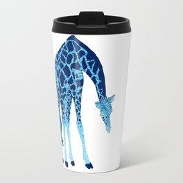 Feelin' Blue: Blue Giraffe Travel Mug