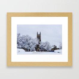 Duke Chapel Framed Art Print