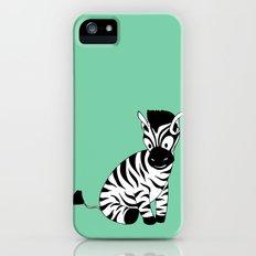 Zebra iPhone (5, 5s) Slim Case
