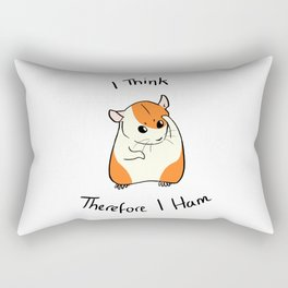 Cogito Ergo Ham Rectangular Pillow