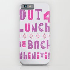 out 4 lunch ver. 2.0 iPhone 6s Slim Case