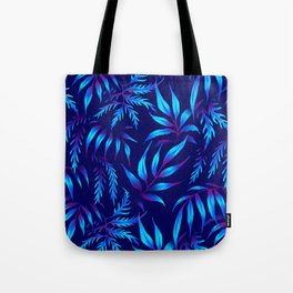 Brooklyn Forest - Blue Tote Bag